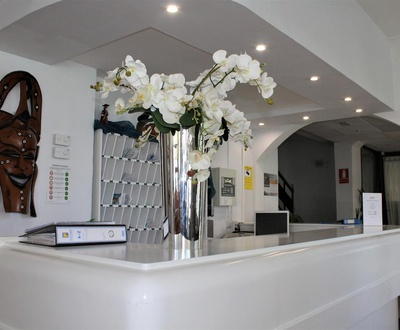 Reception Marbel Hotel